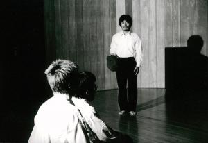 利賀演出家コンクール2001 上演作品<br>『処置』
